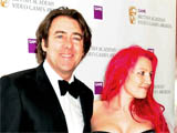 Jonathan Ross and Jane Goldman attending The British Academy Video Games Awards held at the Hilton Hotel, London