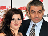 Rowan Atkinson and Jodie Prenger at the Oliver!: 2009 Live London Cast Recording signing session at HMV's Covent Garden store, London
