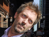 Hugh Laurie, outside the Ed Sullivan Theater for 'The Late Show with David Letterman' in New York City