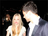 'Mamma Mia' costars Amanda Seyfried and Dominic Cooper leaving Chateau Marmont in West Hollywood, Los Angeles