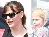 Jennifer Garner out and about with her daughter Violet Affleck at the 26th St Market, Los Angeles, California