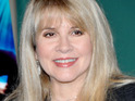 'Edge of Seventeen' singer Stevie Nicks is spotting visiting the set of the hit Fox show Glee.