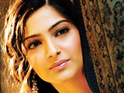 Sonam Kapoor is criticized for the unconventional way she wore a sari at an event in Mumbai.