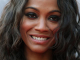 Zoe Saldana at the Moscow premiere of J.J. Abrams 'Star Trek' movie