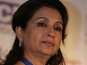 Sharmila Tagore is reportedly upset by the government's strict new rules about smoking in films.