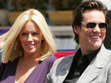 Jim Carrey and Jenny McCarthy at the 'A Christmas Carol' photocall at Cannes Film Festival