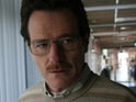 Breaking Bad's Bryan Cranston jokes that he uses his previous Emmys to prop up a hammock.