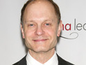 David Hyde Pierce suggests that he feels compelled to talk about the issue of gay rights.