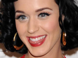 Katy Perry shares some love at the Capital FM Summertime Ball in London