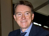 Lord Peter Mandelson at the 'Centenary Journey' launch at the Science Museum, London