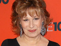 Joy Behar reveals that her View co-host Barbara Walters refuses to allow Mel Gibson on the show.
