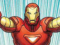 Marvel Comics announces a new motion book titled Iron Man Extreme.