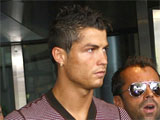 Cristiano Ronaldo arriving back in Madeira after being introduced as Real Madrids FC's summer signing, Portugal.