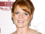 Sarah Ferguson, Duchess of York, at the premiere of 'The Young Victoria' in Paris, France