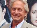 Michael Douglas says that he will use humor to help him get through his cancer treatment.