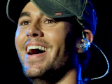Enrique Iglesias performing live during the 'Latinoamericando' festival held in Milan, Italy