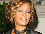 Whitney Houston, who is set to release a new album in September, arrives at her hotel in London