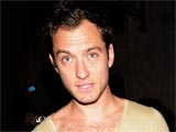 Jude Law leaves the Wyndham's Theatre after performing the lead role in Shakespeare's Hamlet, London.