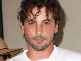 Skeet Ulrich at the Chelsea v Inter Milan match at the Rose Bowl, California