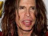 Steve Tyler hosts the official Aerosmith after-concert party. Las Vegas, Nevada.
