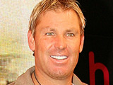 Australian cricketer Shane Warne launches game 'Ashes Cricket 2009' at HMV Oxford Street, London