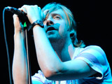 Ricky Wilson of the Kaiser Chiefs performing live in Miami, Florida