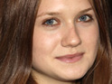 "Bonnie Wright admits that she found filming the epilogue scenes for Harry Potter ""bizarre""."