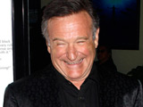 Robin Williams at the premiere of 'World's Greatest Dad' in Los Angeles, California