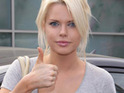 Australian singer and radio star Sophie Monk says that she hates her large breasts.