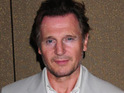 Liam Neeson says that he started smoking again while filming the A-Team movie.