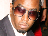 Sean Combs aka P Diddy at the premiere of the Anna Wintour centric film 'The September Issue' in New York City