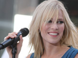 Natasha Bedingfield performing on stage at the NBC Toyota concert, New York City