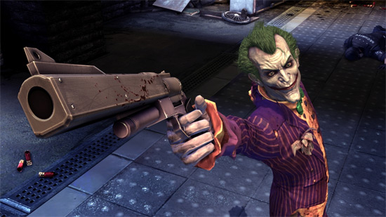 The Joker and Pistol