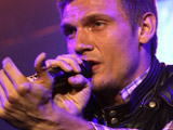 Nick Carter of the Backstreet Boys performing live at Parkbuehne Wuhlheide. Berlin, Germany.
