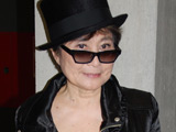 Yoko Ono at the preview of the 'nochnichtmehr' exhibition, Berlin