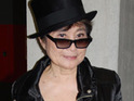 Yoko Ono marks what would have been John Lennon's 70th birthday by urging fans to work for peace.