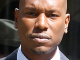 R&B singer and actor Tyrese Gibson filming scenes for his upcoming show in Hollywood, Los Angeles