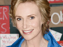 Jane Lynch says that she is thankful to join Glee as a full-time cast member.