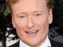 Conan O'Brien helps to fund a couple's wedding through his Twitter posts.