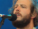 Bon Iver star Justin Vernon reveals that he has been 'working with' rapper Kanye West.