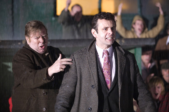 Timothy Spall and Michael Sheen in The Damned United