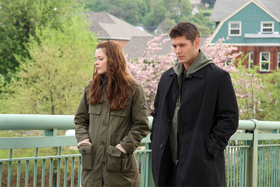 Jaime King and Jensen Ackles in My Bloody Valentine 3D
