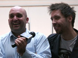 Shane Meadows and Paddy Considine