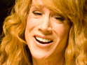 Kathy Griffin jokingly warns Kim Kardashian to stay away from Justin Bieber.