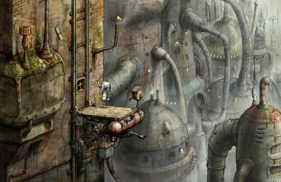 Gaming Review: Machinarium