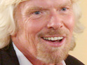 Richard Branson is forced to abandon his plan to kitesurf across the English Channel.