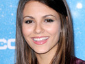 Victorious star Victoria Justice reveals that her favorite TV show is Glee.