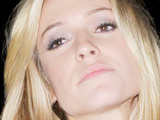 Reality star Kristin Cavallari of 'The Hills' outside Club Voyeur in West Hollywood, Los Angeles
