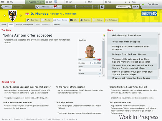 Gaming Review: Football Manager 2010