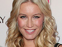 Denise Van Outen admits that she has found adjusting to motherhood hard.